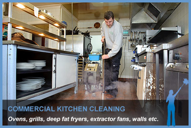 Kitchen Steam Cleaning